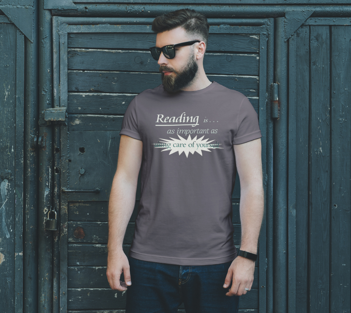 Reading DTG Unisex T Heather preview #2