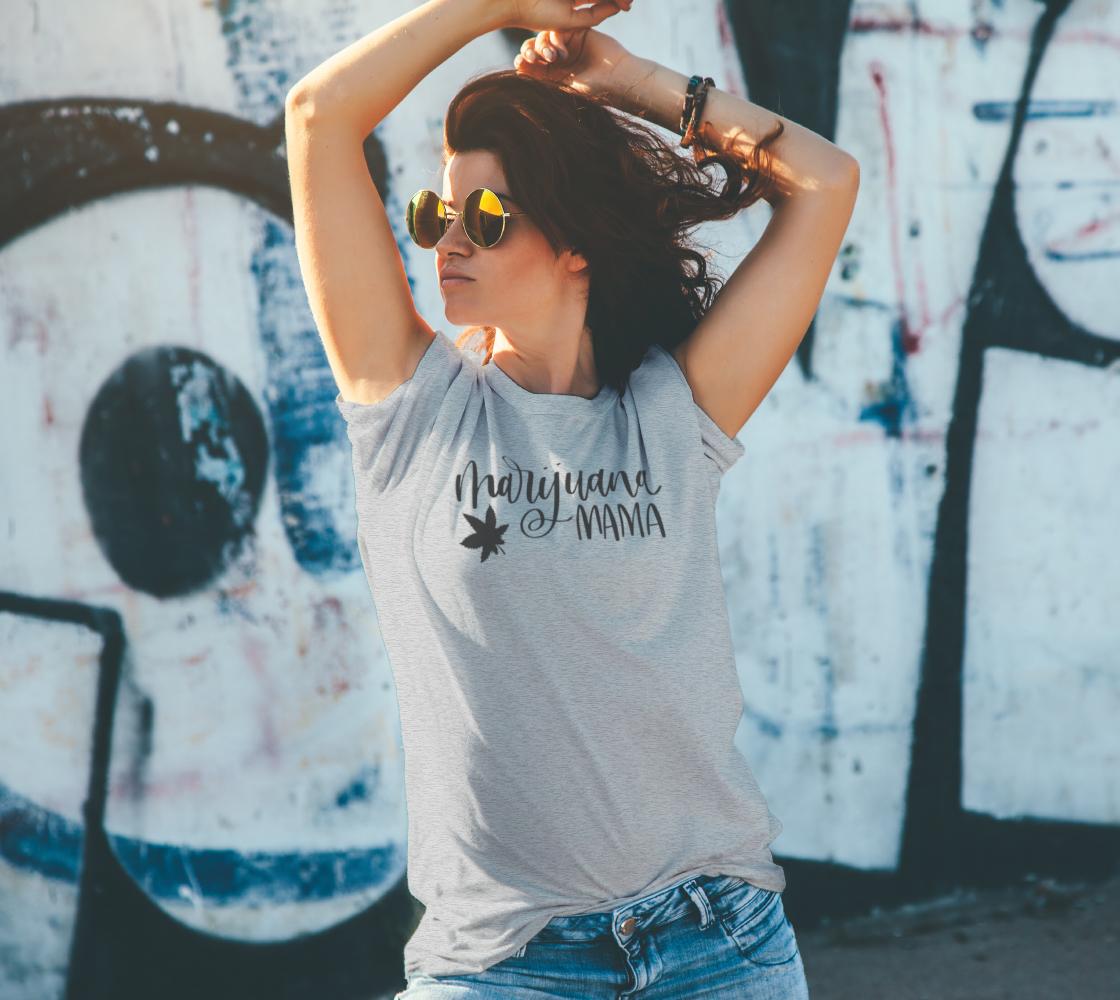 Marijuana mama pot t-shirt preview #4