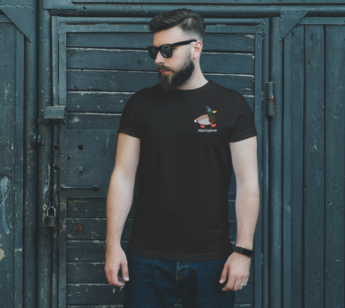 Mind Explorer with Toque Unisex Tee preview #2