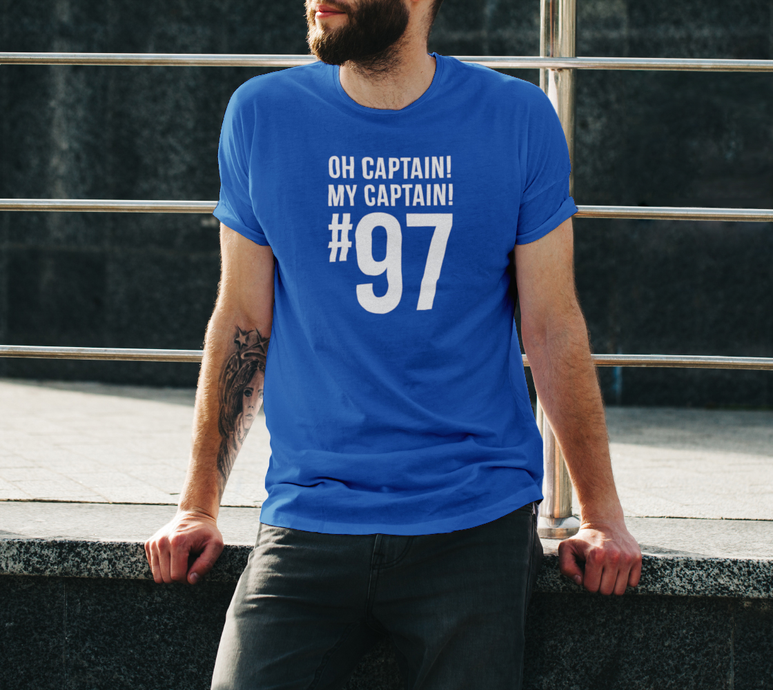 Oh Captain! My Captain! #97 preview #3
