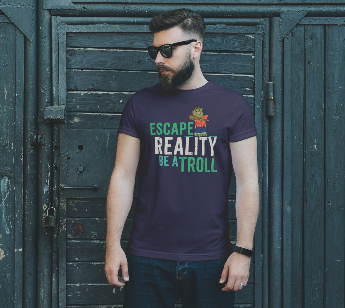 Escape Reality Be A Troll preview #2