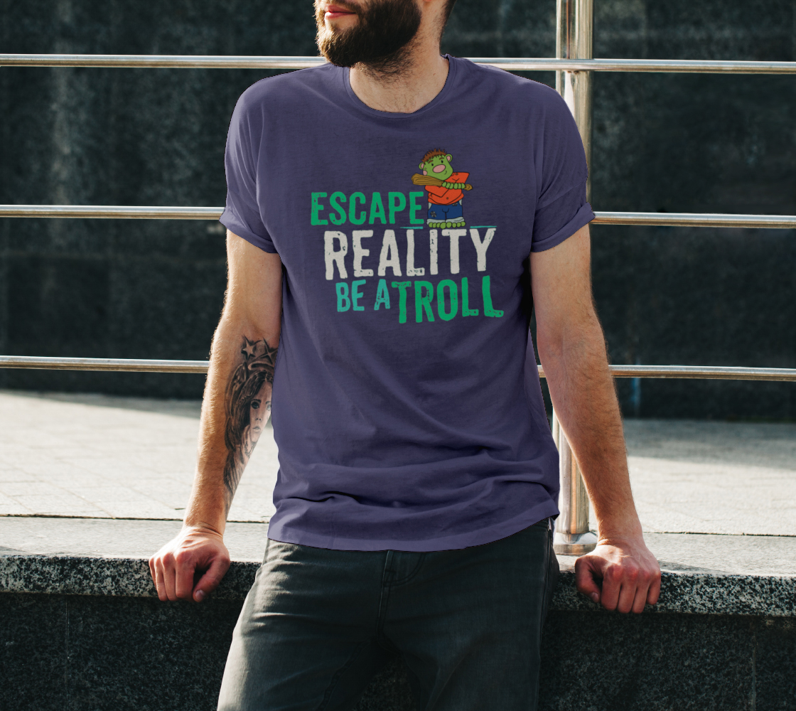 Escape Reality Be A Troll preview #3