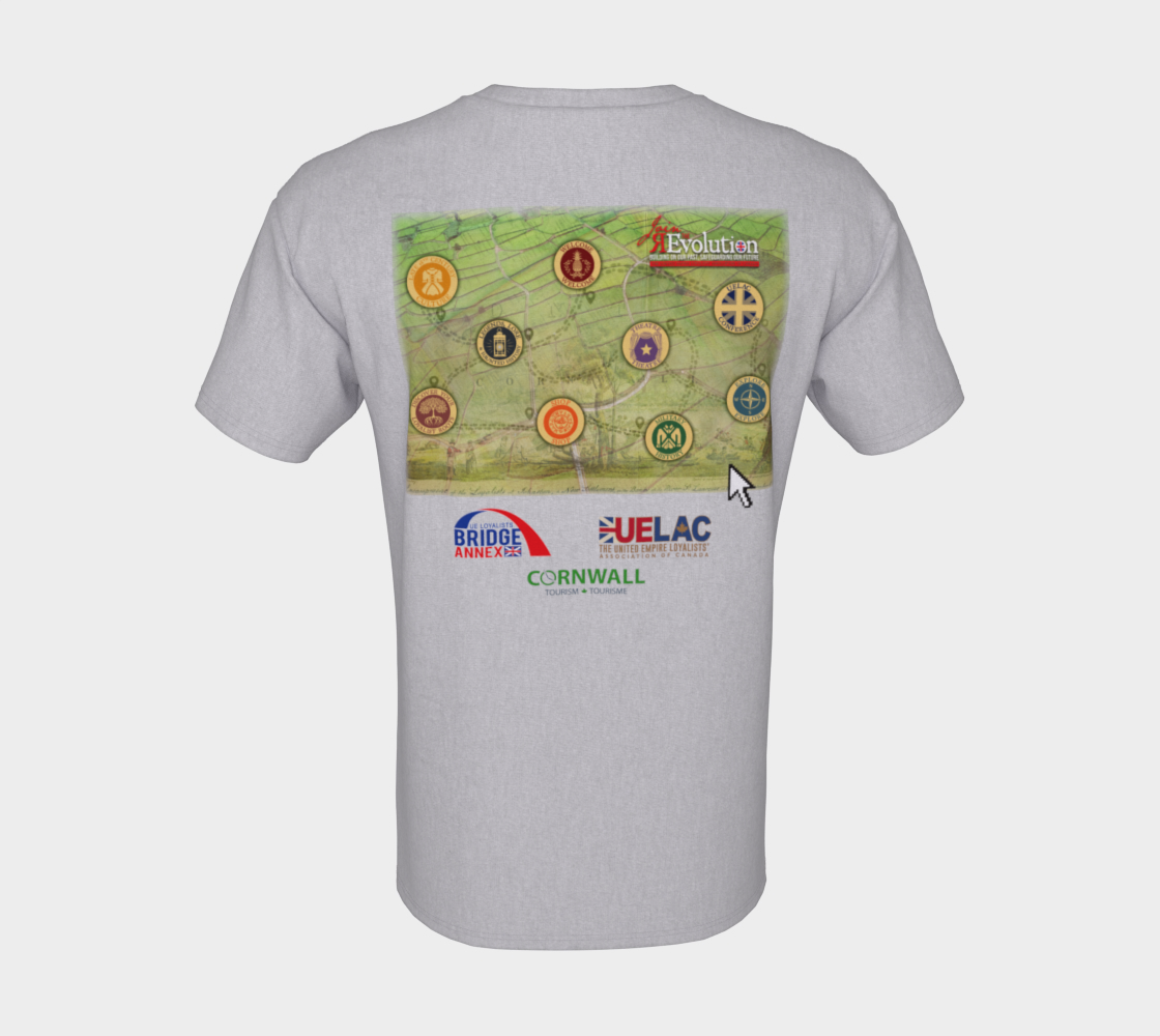 2021 Conference tee with map grey preview #8