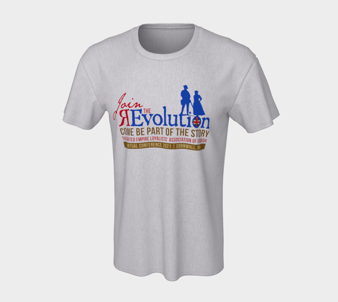 2021 Conference tee with map grey preview #7