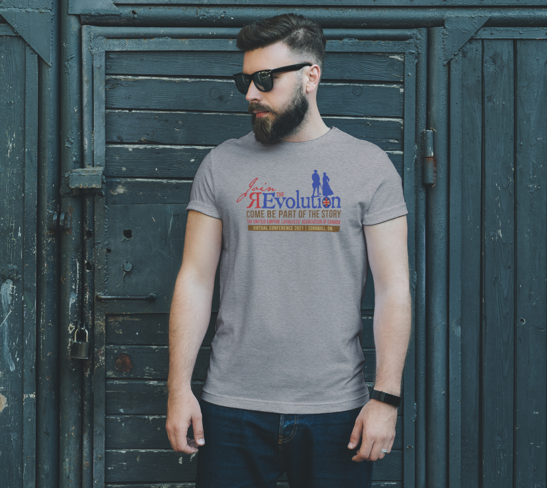 2021 Conference tee with map grey preview #2