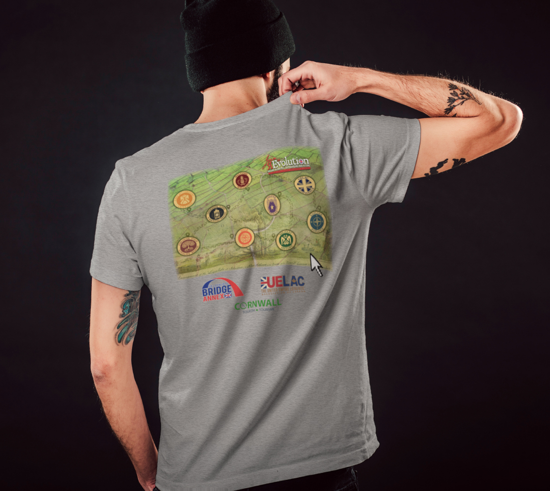 2021 Conference tee with map grey preview #5