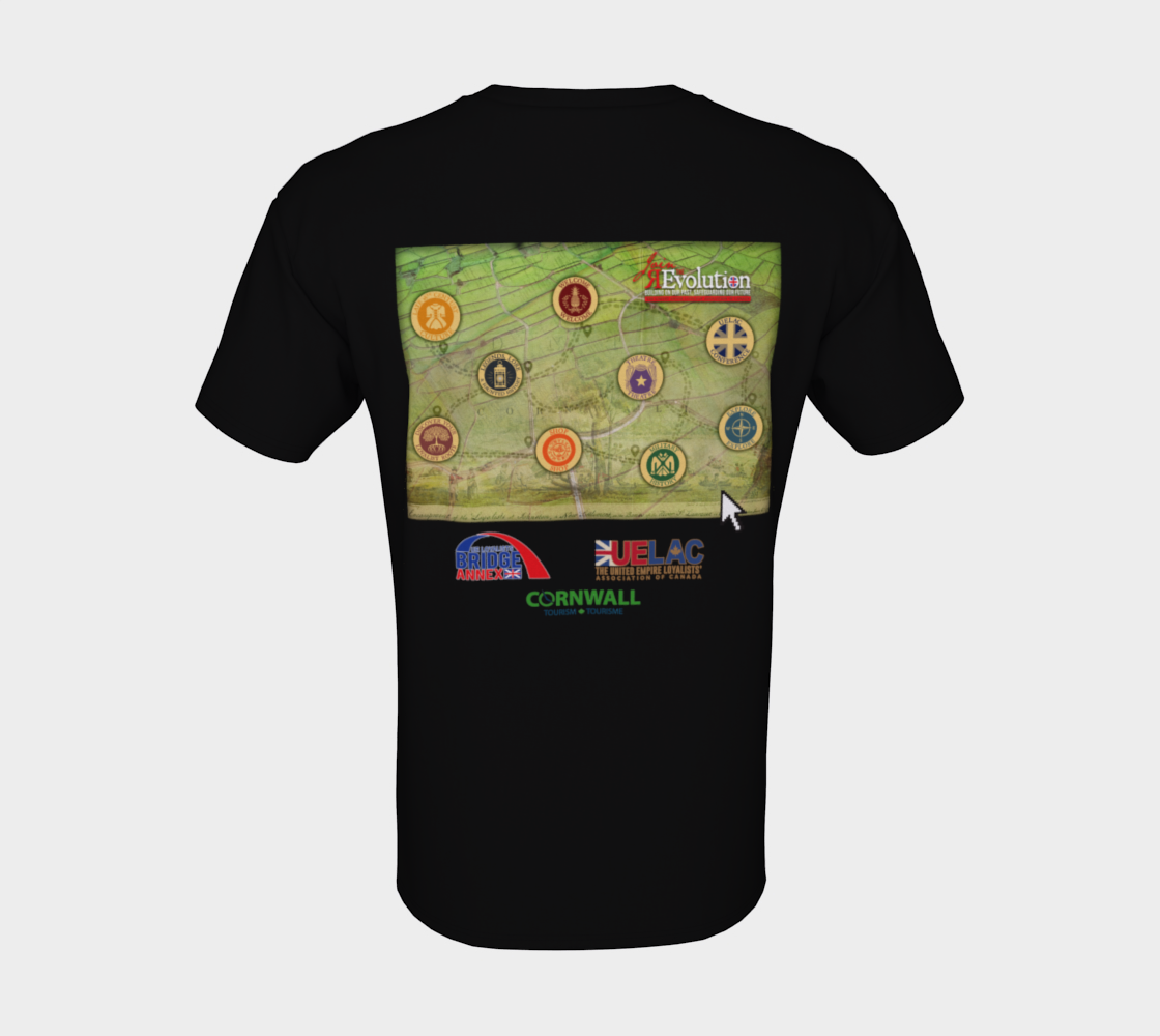 2021 Conference tee with map on back - black preview #8