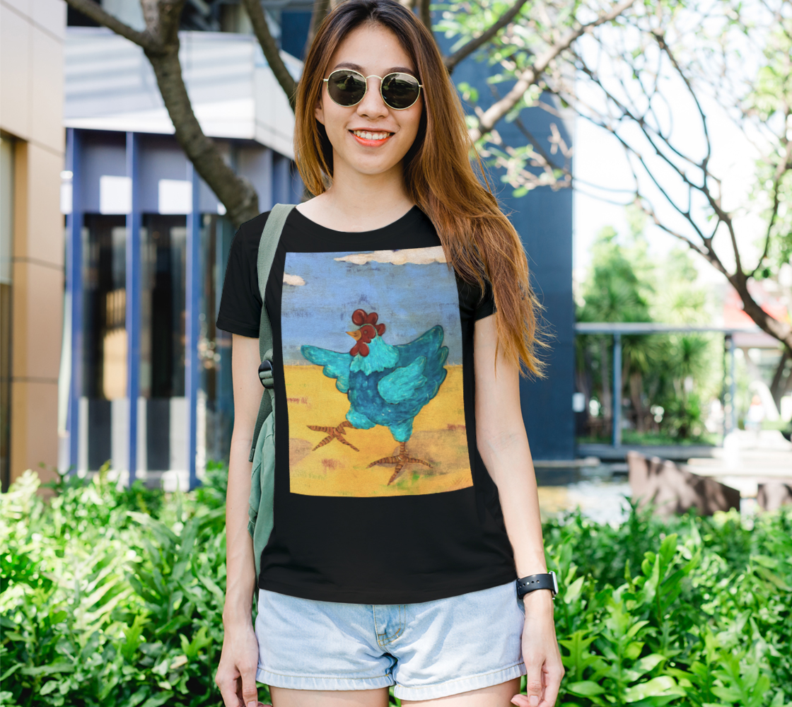 Teal Chickie Women's Tee preview