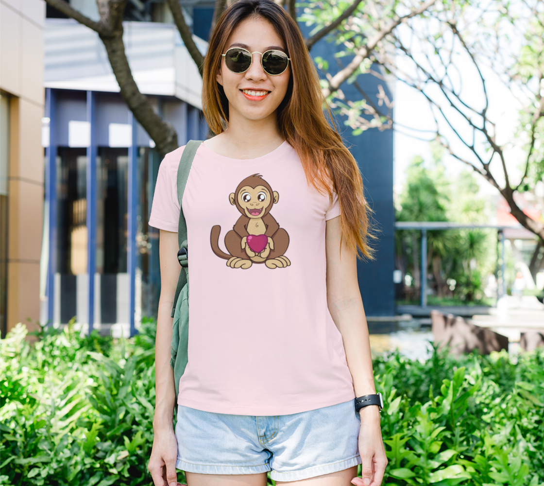 Aperçu de Monkey love Women's Tee