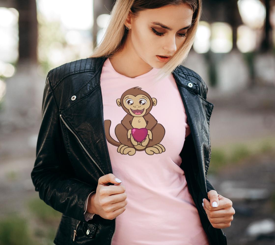 Monkey love Women's Tee preview #2
