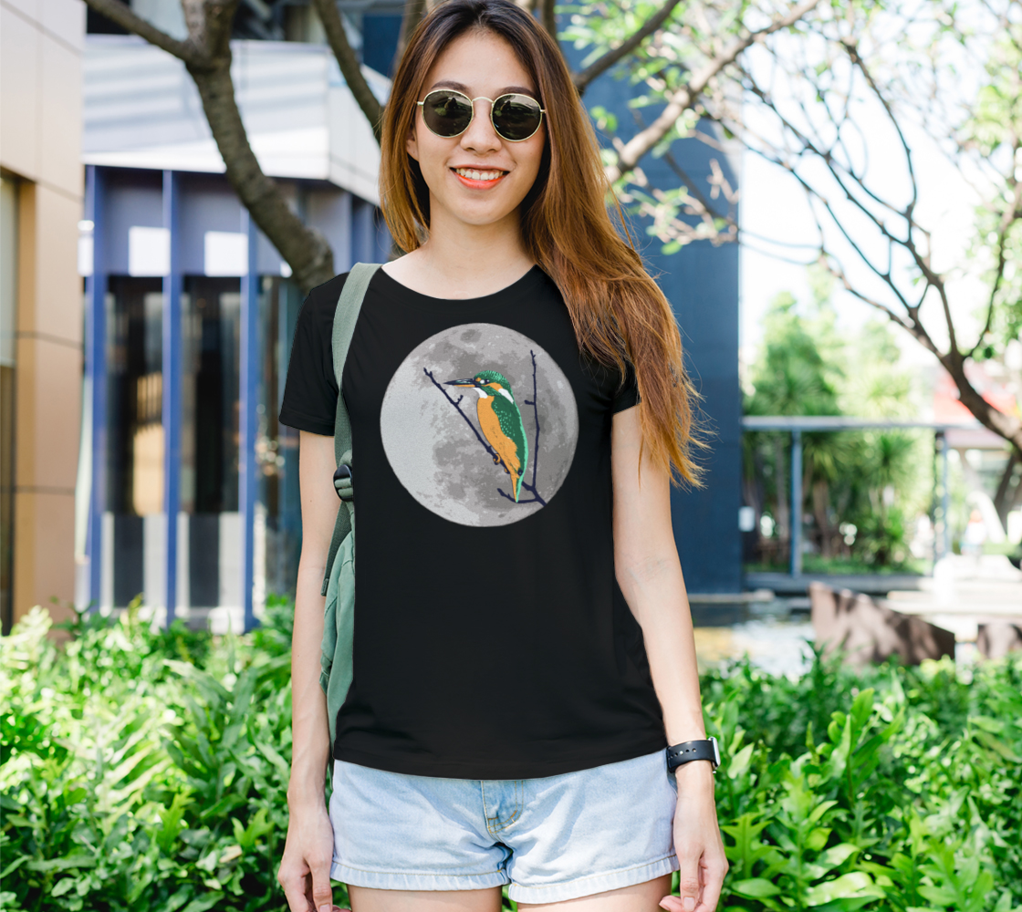 Fly me to the moon Women's Tee preview