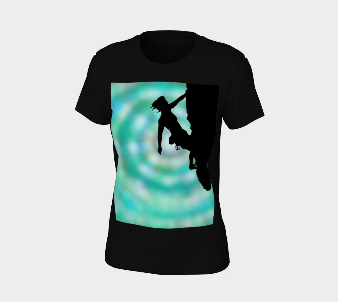 Between rock and sky T shirt preview #7