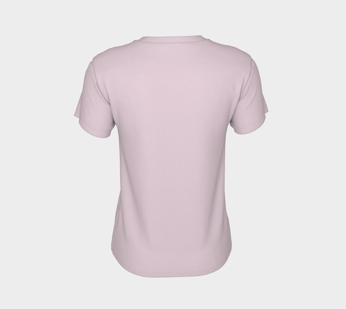 Pink and green raindrops Women's Tee preview #8