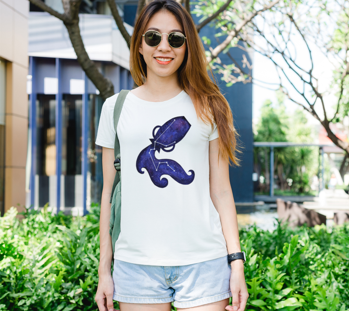 Astrological sign Aquarius constellation Women's Tee preview