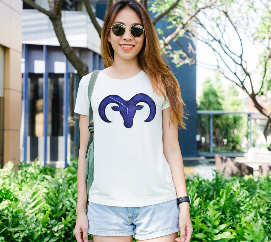 Astrological sign Aries constellation Women's Tee preview