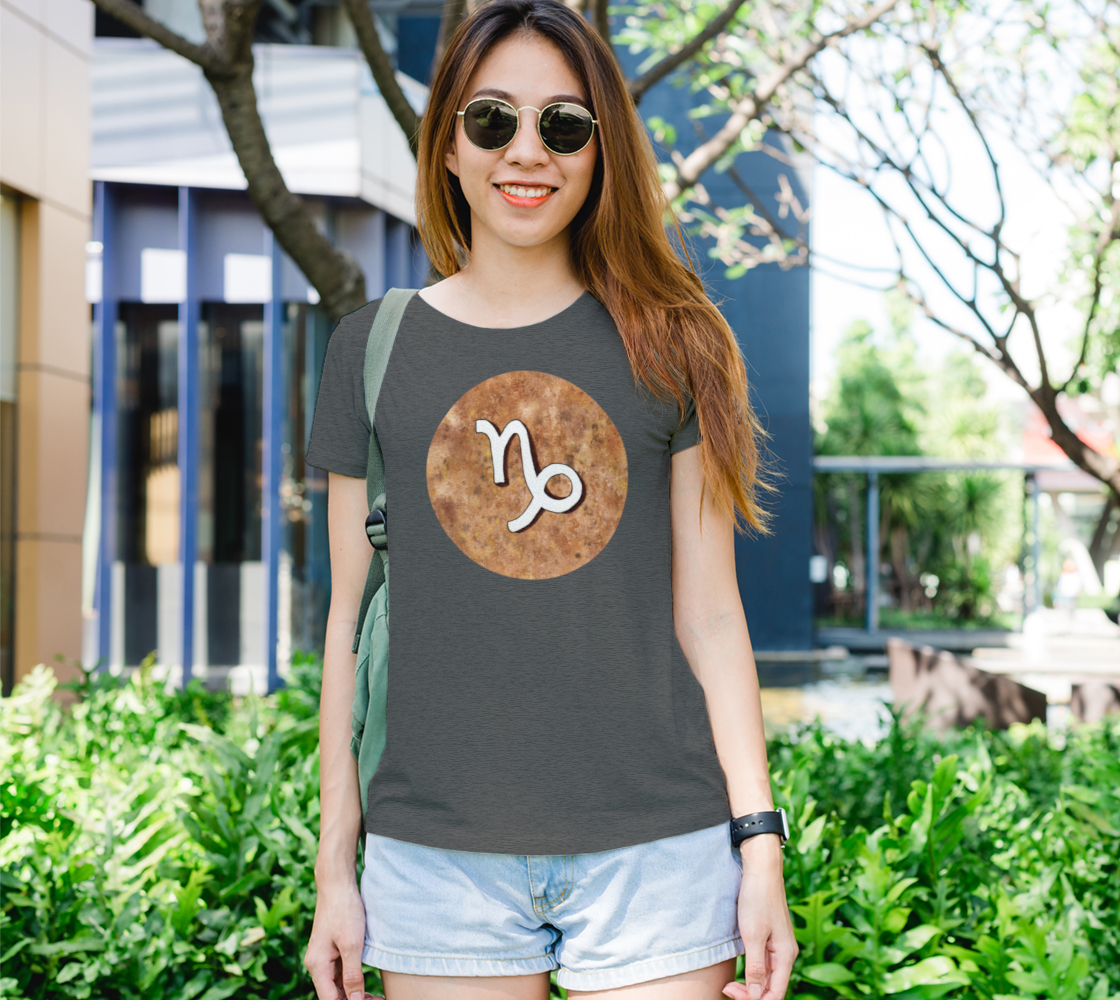 Capricorn astrological sign Women's Tee preview