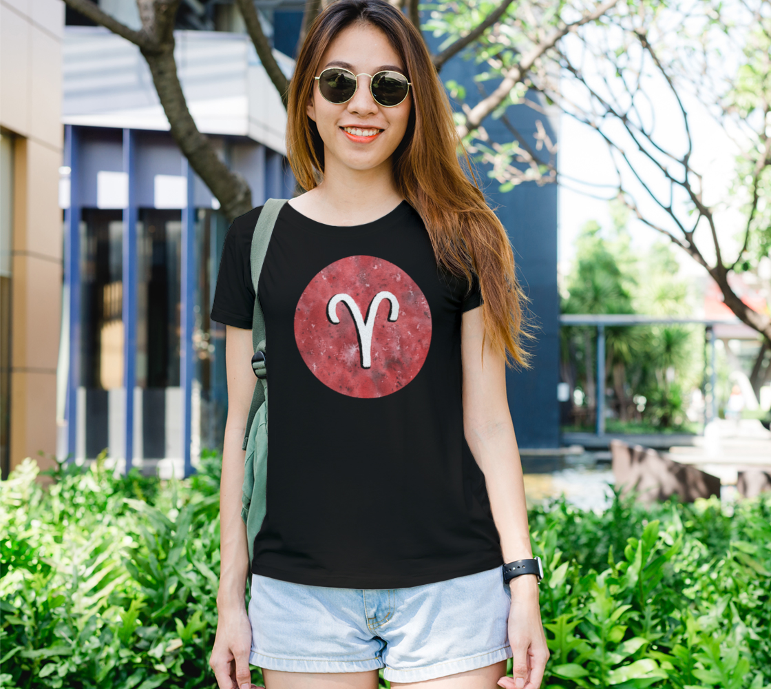 Aries astrological sign Women's Tee preview