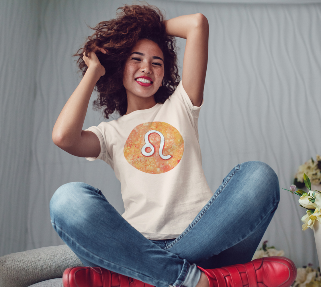 Leo astrological sign Women's Tee preview #3