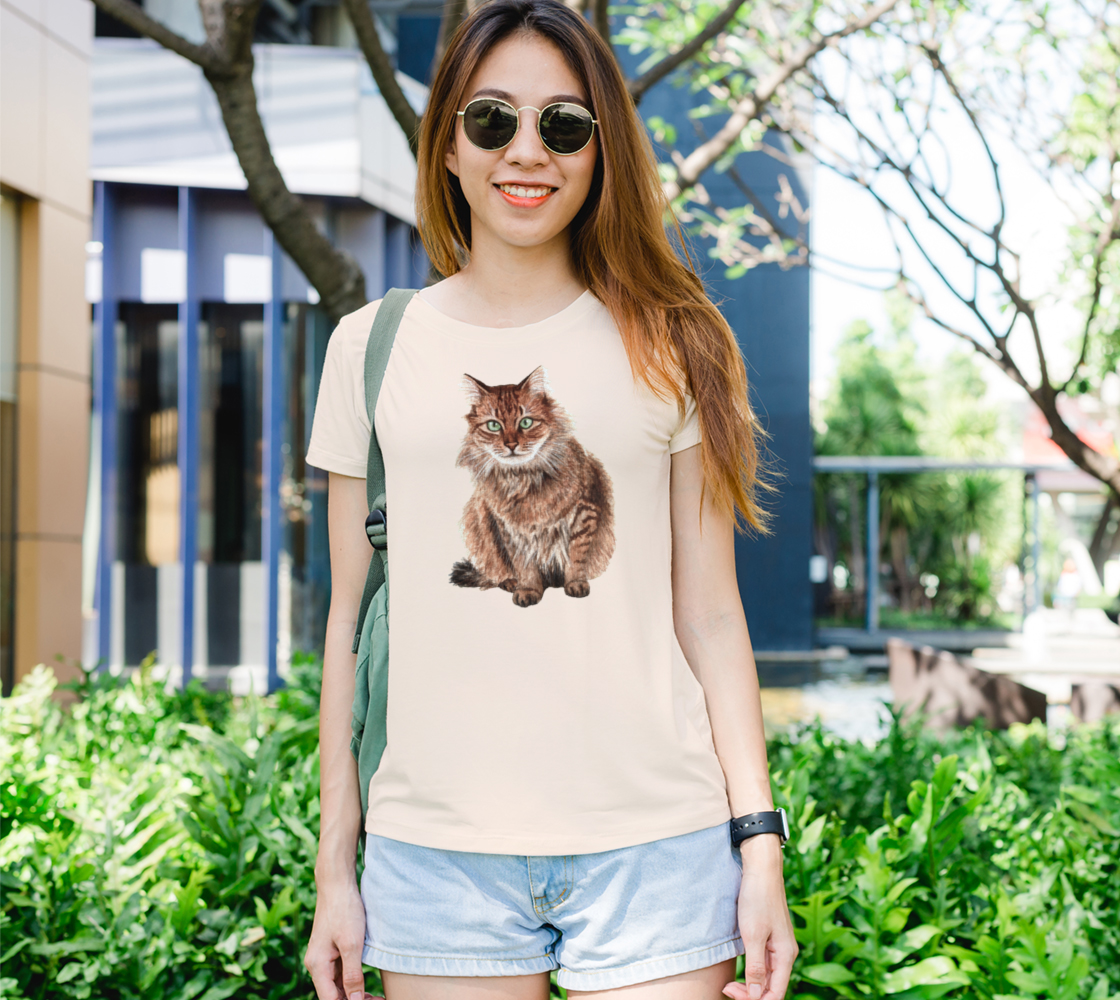 Somali cat Women's Tee preview