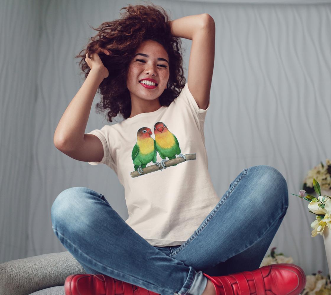 Fischer's lovebirds Women's Tee preview #3
