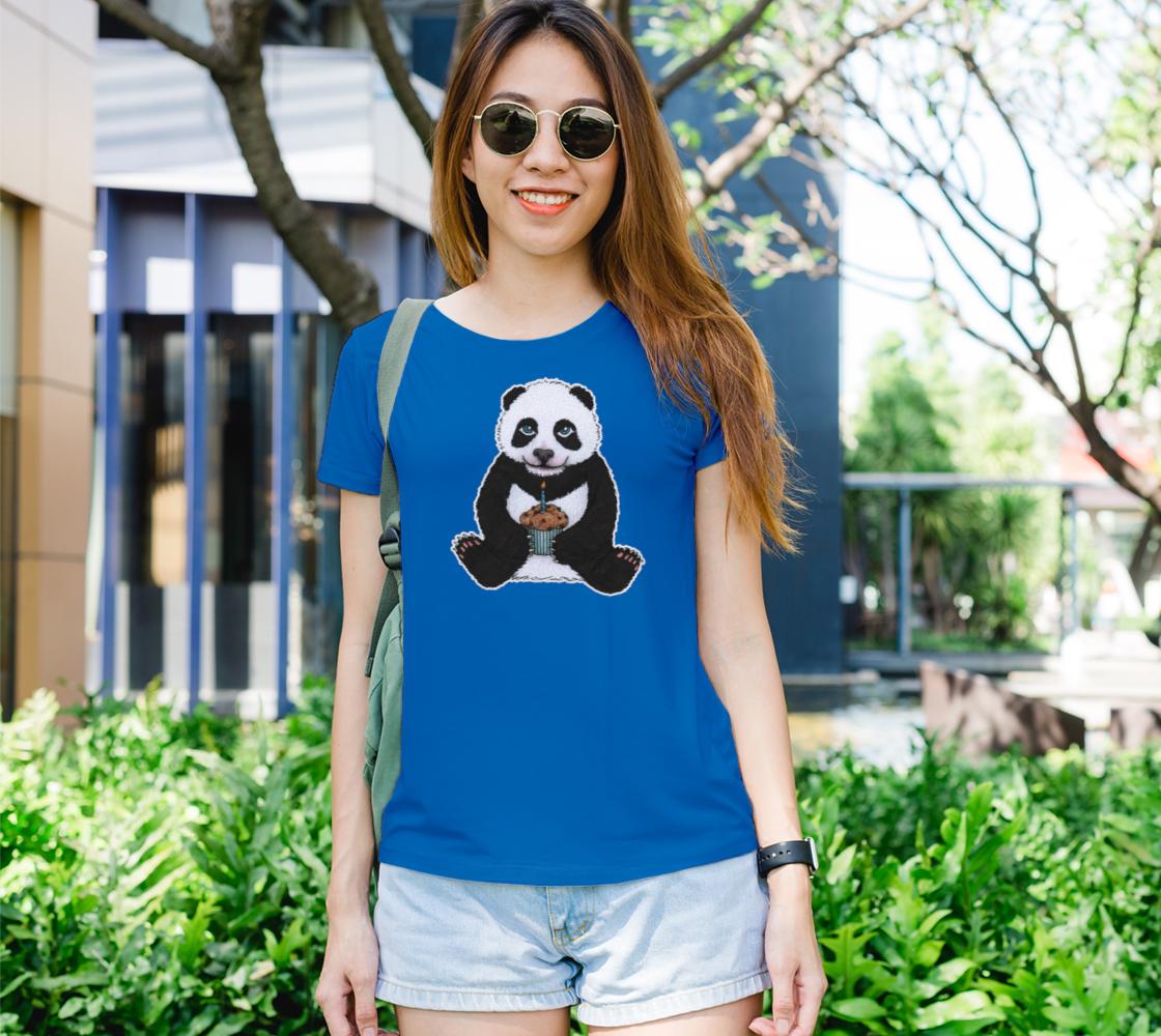 Baby panda's birthday Women's Tee preview