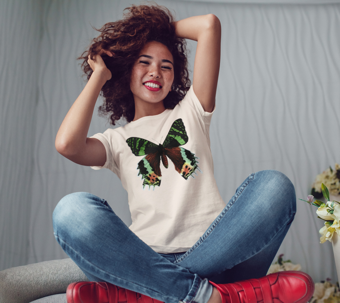 Urania Ripheus butterfly Women's Tee preview #3