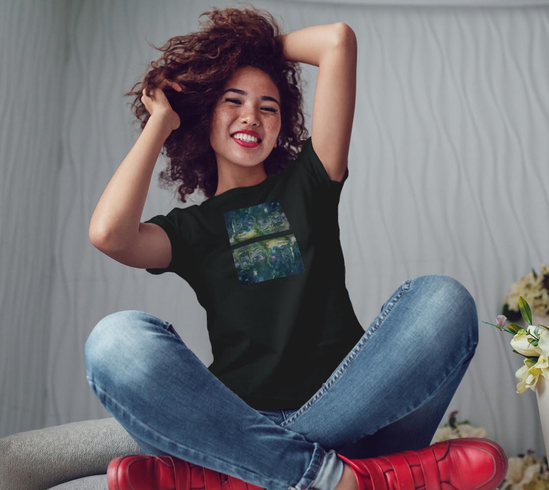 Aperçu de Turquoise Magical Story Bella Tshirt #3