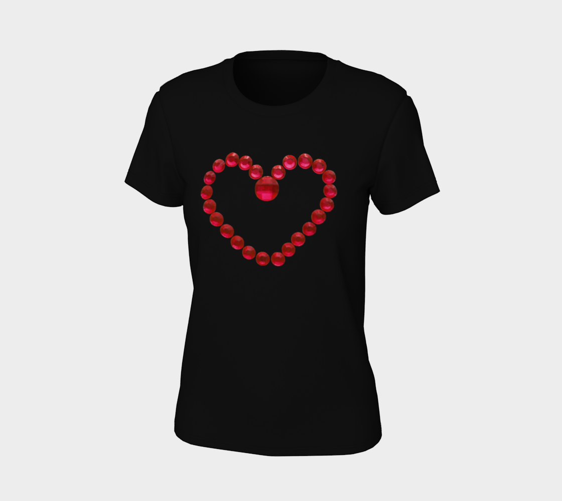Red Bead Love Heart preview #7