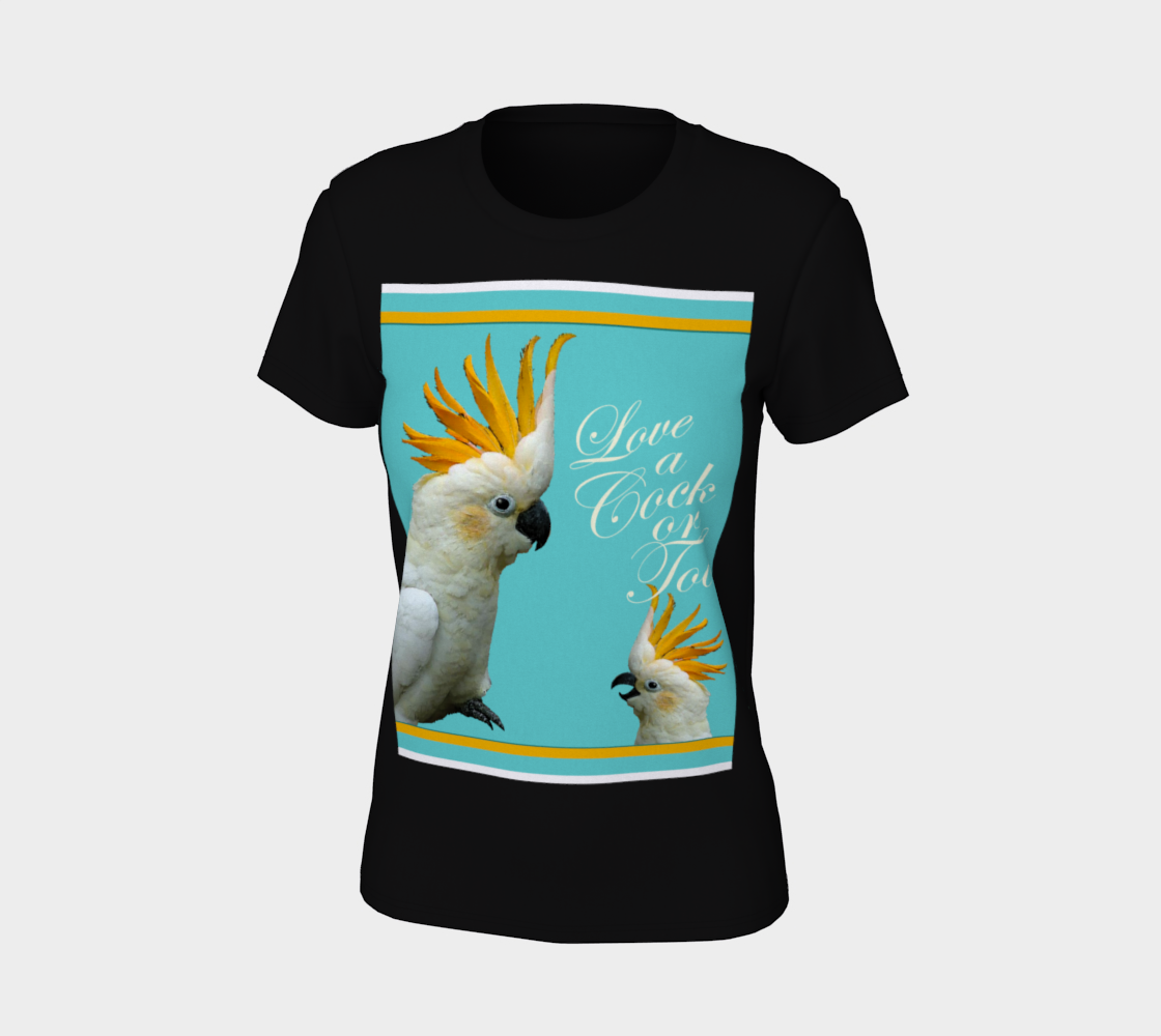 Cock-a-Too Women's Tee preview #7