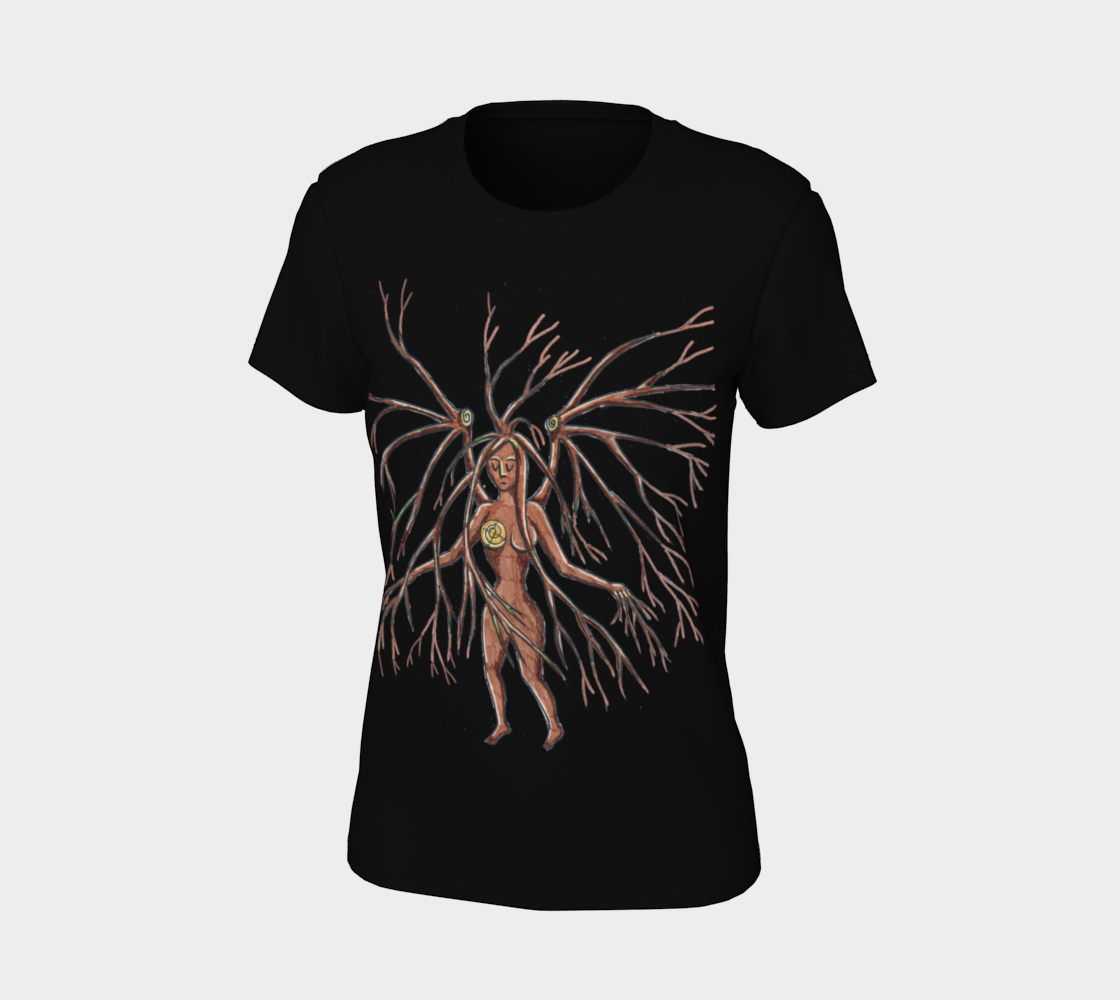 lady dryad t shirt preview #7
