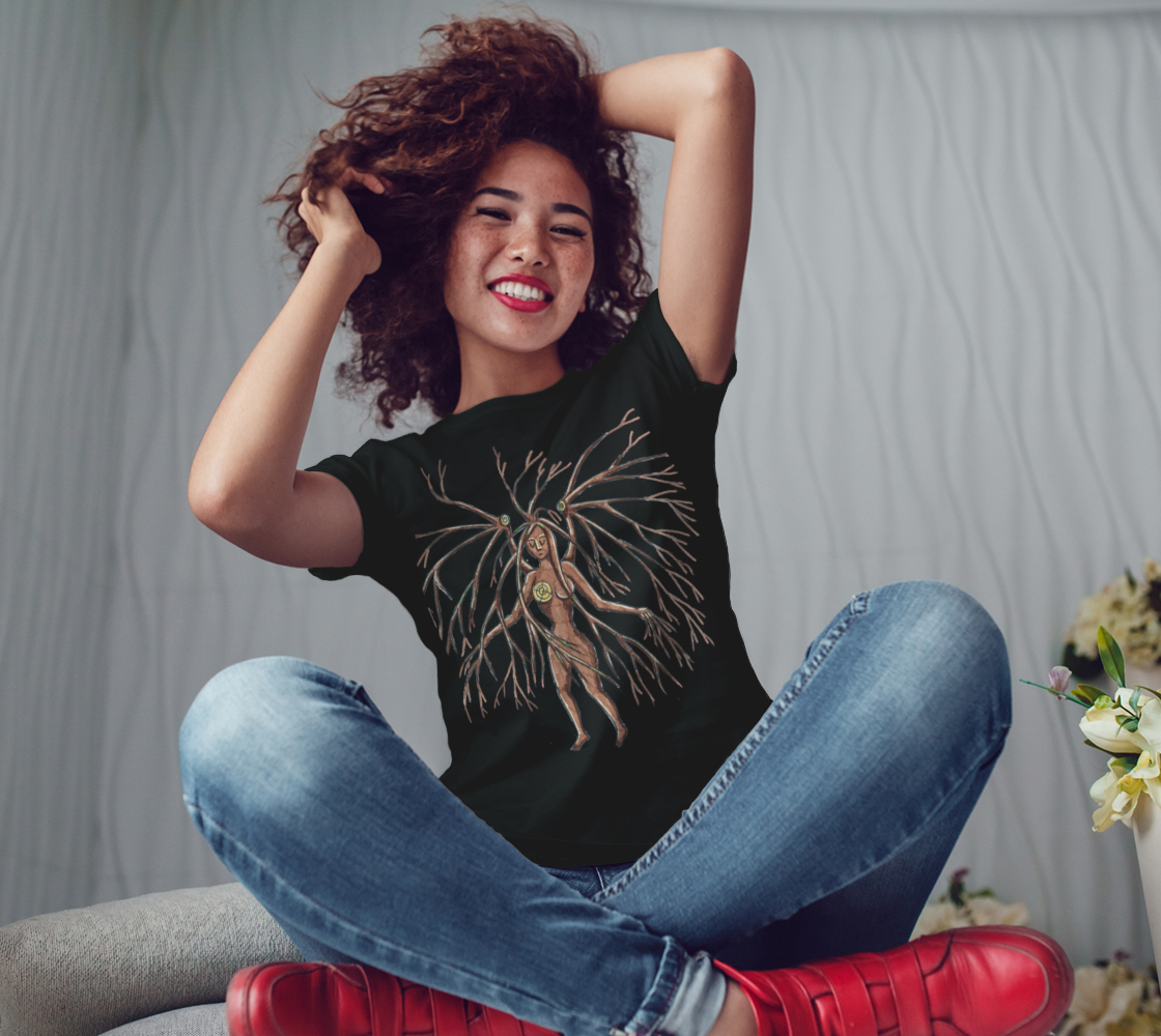 lady dryad t shirt preview #3