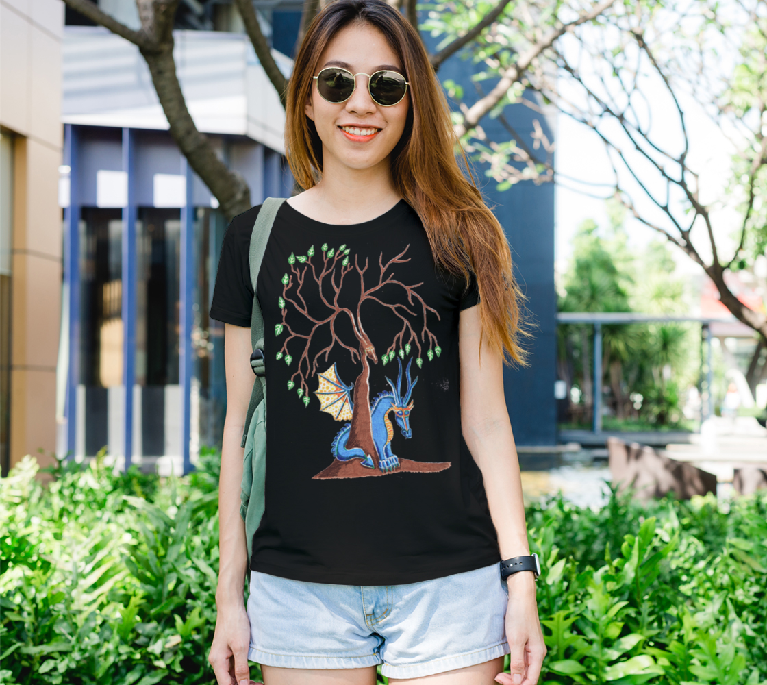 beneath the dragon tree t shirt preview