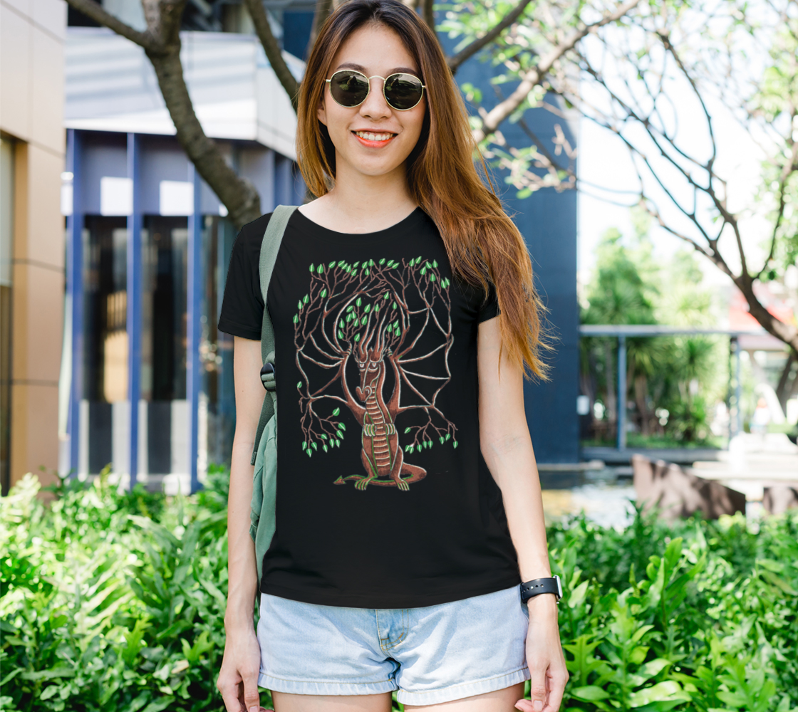 dragon tree t shirt preview