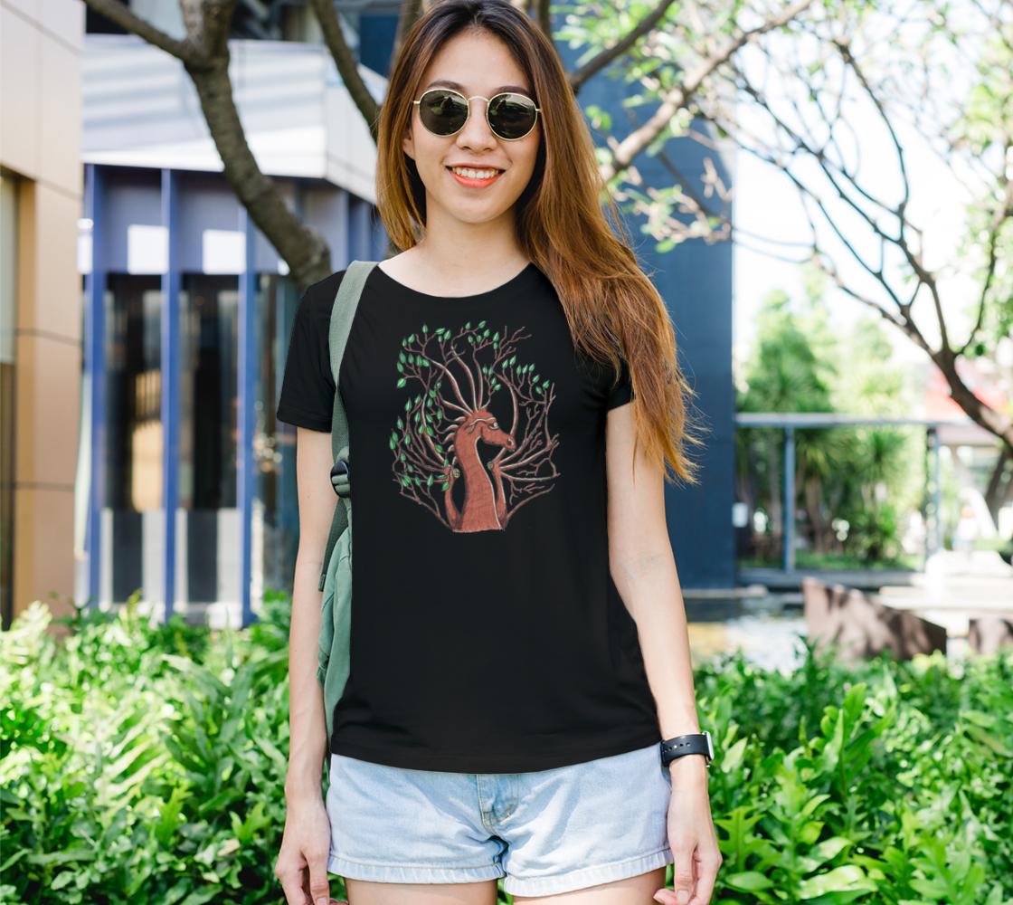 dragon head tree t shirt preview