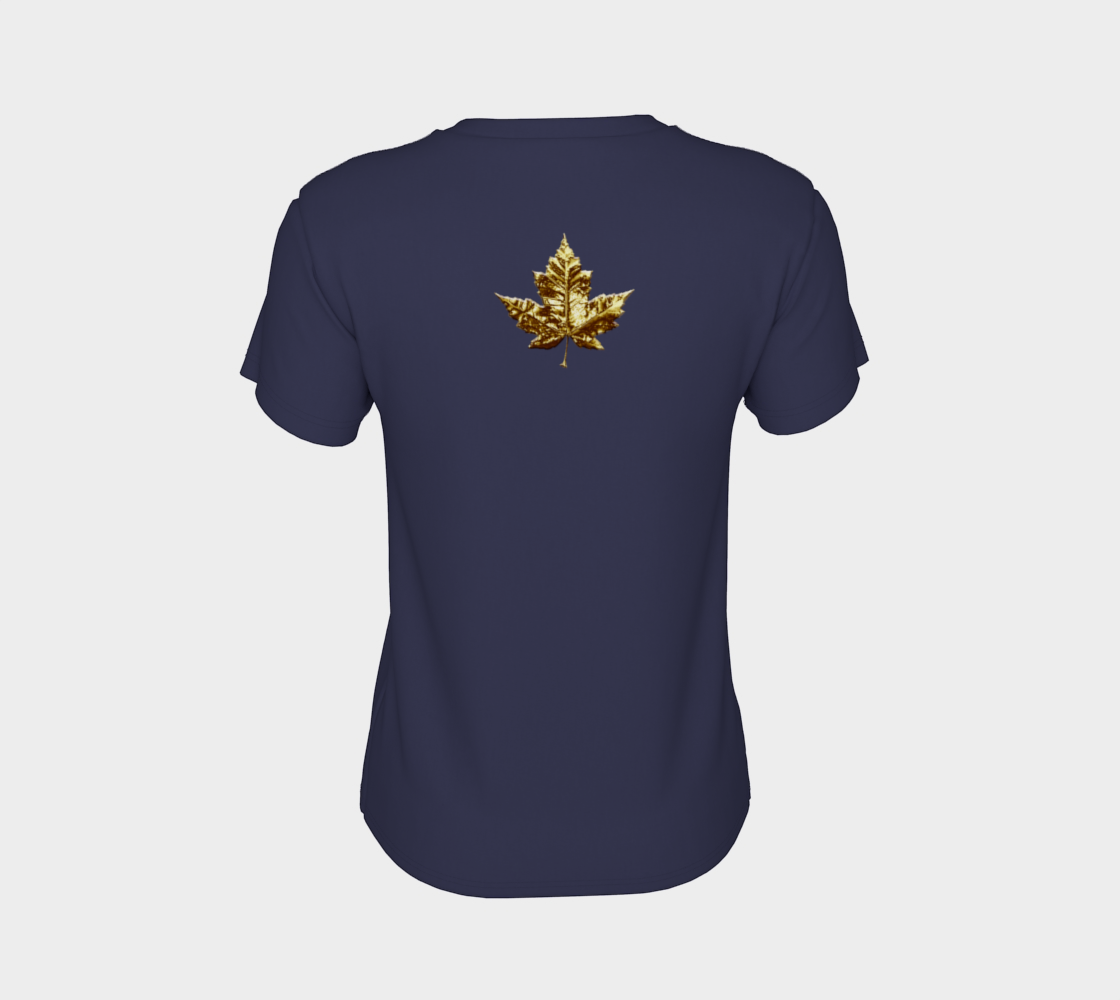 Gold Canada Shirts Canada Souvenir T-shirts preview #8