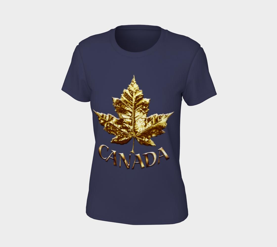 Gold Canada Shirts Canada Souvenir T-shirts preview #7