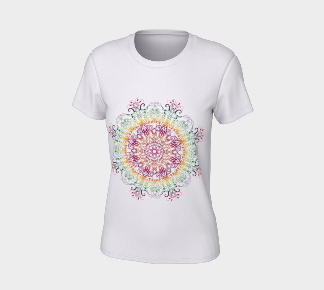 Aperçu de Floral Ethnic Mandala #7