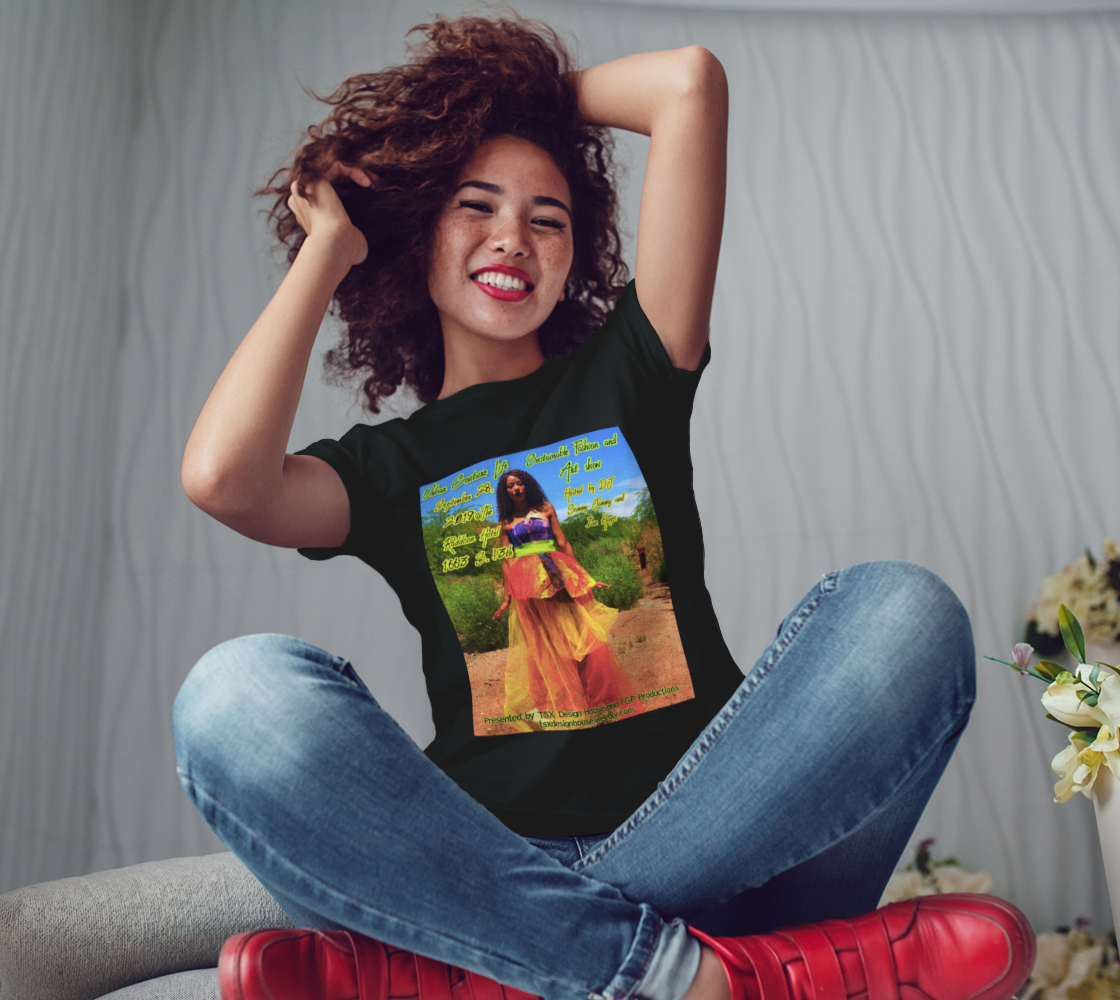 Aperçu de LIMITED EDITION: Urban Couture Life: Sustainable Fashion and Art Show TShirt #3