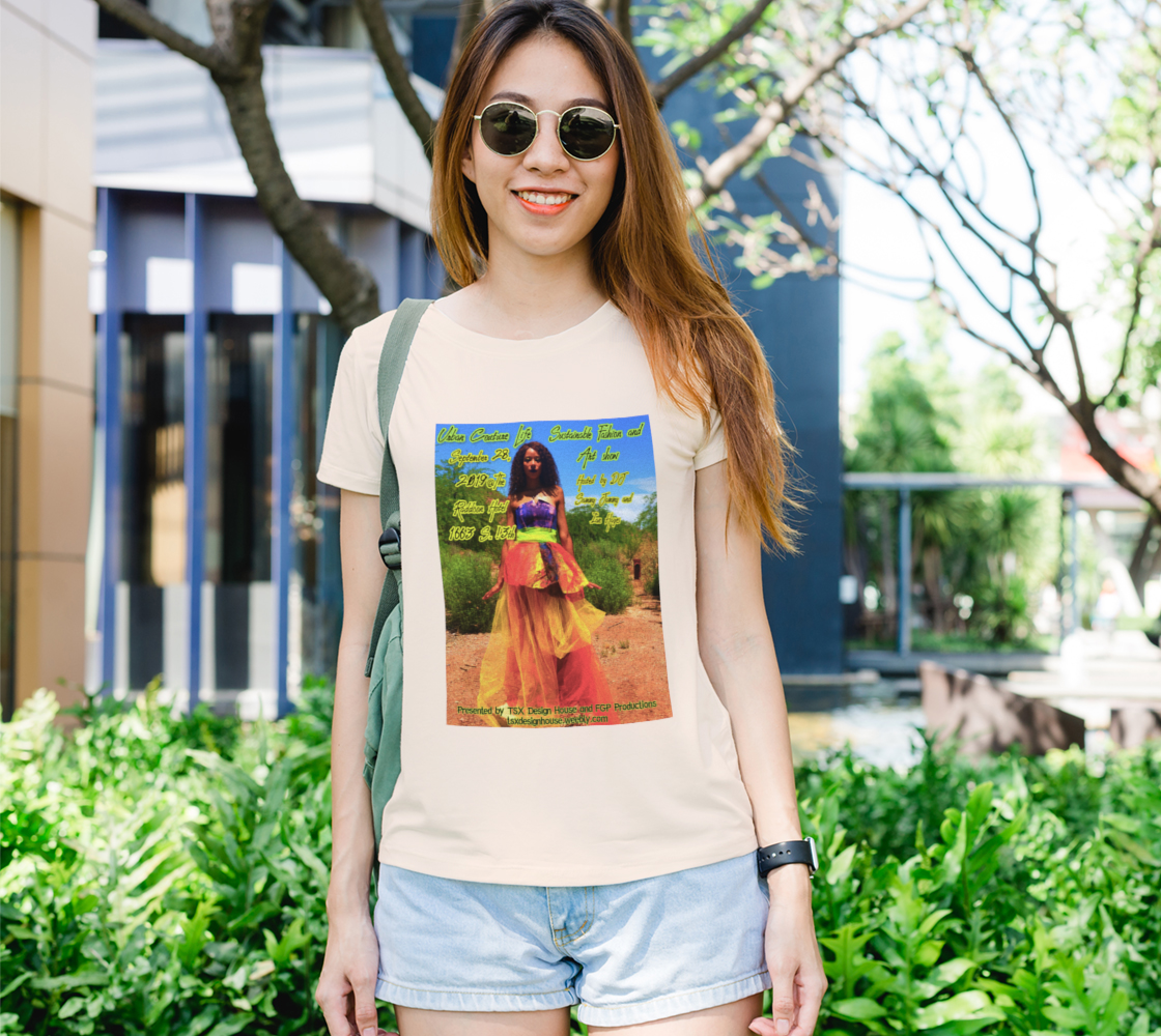 Aperçu de LIMITED EDITION: Urban Couture Life: Sustainable Fashion and Art Show TShirt