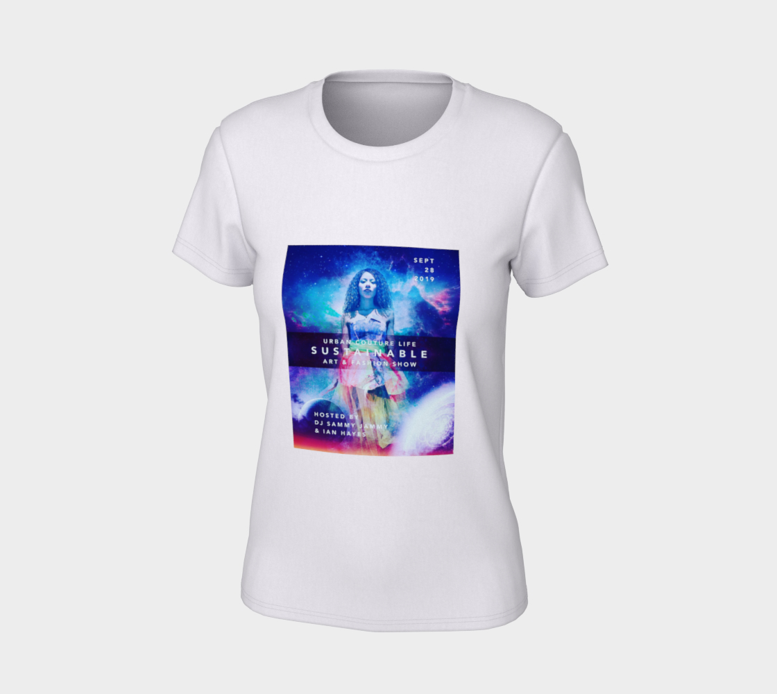 Aperçu de LIMITED EDITION: Urban Couture Life: Sustainable Fashion and Art Show TShirt #7