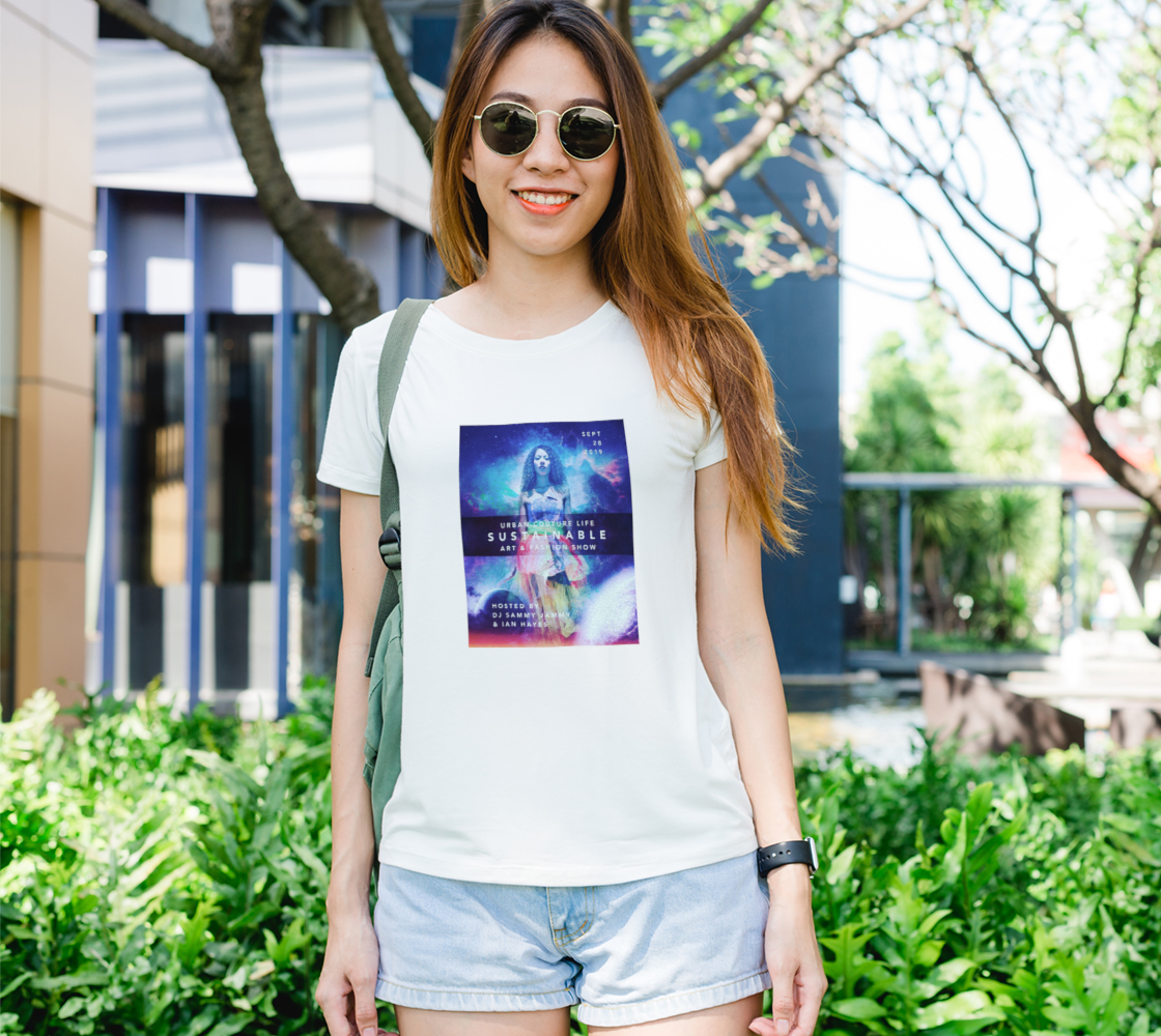 LIMITED EDITION: Urban Couture Life: Sustainable Fashion and Art Show TShirt preview