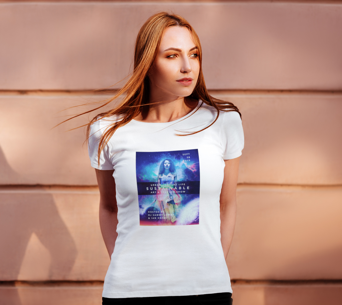 Aperçu de LIMITED EDITION: Urban Couture Life: Sustainable Fashion and Art Show TShirt #4