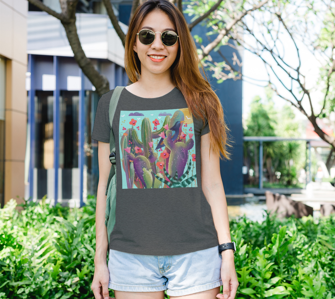 Aperçu de T -shirt Cactus en folie!