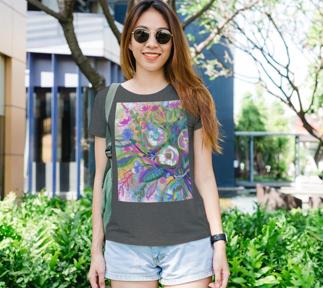 Aperçu de Tee shirt floral