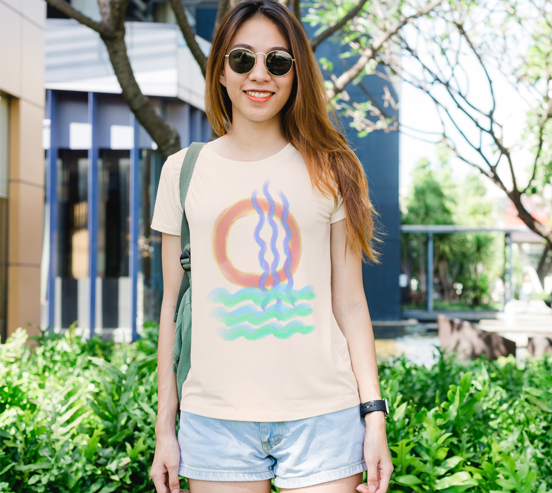 Original Abstract Art to Wear Women's Tee preview