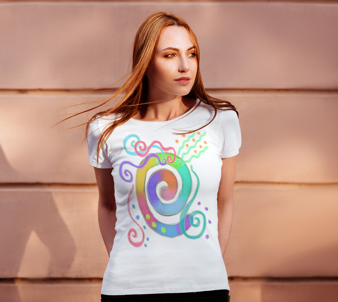 Colorful Abstract Art to Wear preview #4