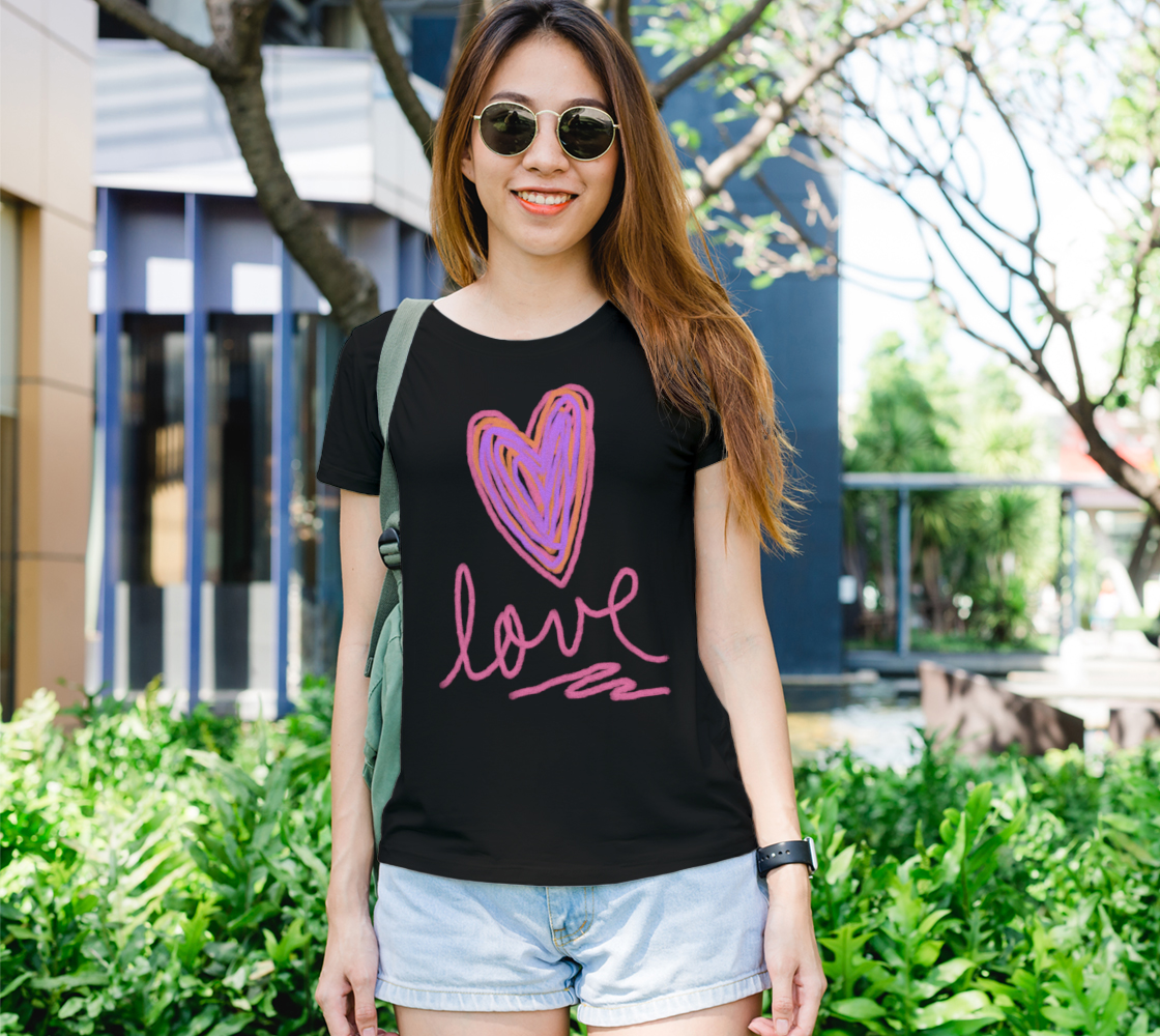 Love Abstract Heart Wearable Art preview
