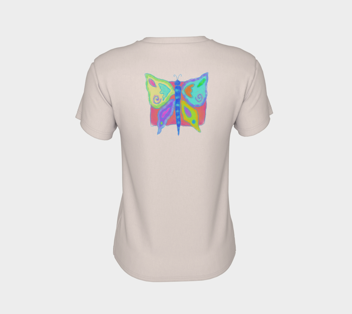 Original Abstract Butterfly Art to Wear preview #8