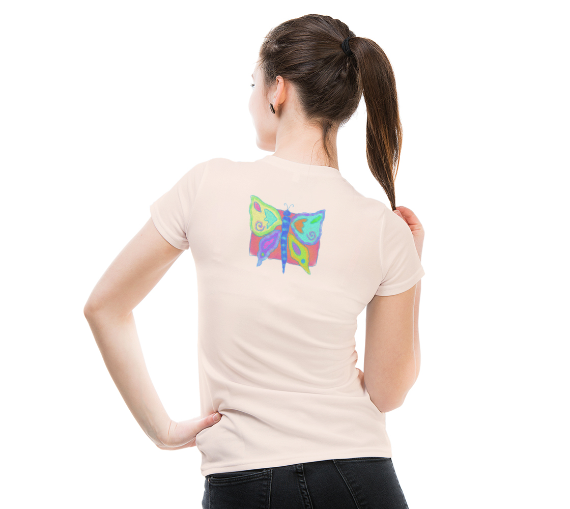 Original Abstract Butterfly Art to Wear preview #5