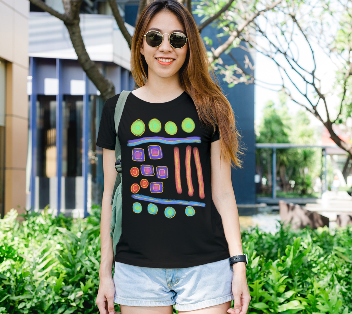 Funky Abstract Wearable Art preview